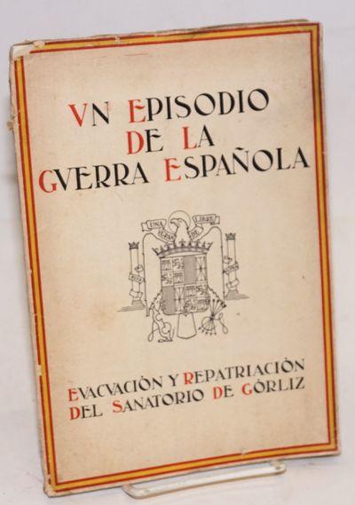 Bilbao: Imprenta Provincial de Vizcaya, 1937. Paperback. 24 + 24p. + plates: clear photography repro...