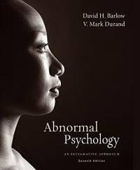 image of Abnormal Psychology: An Integrative Approach, 7th Edition
