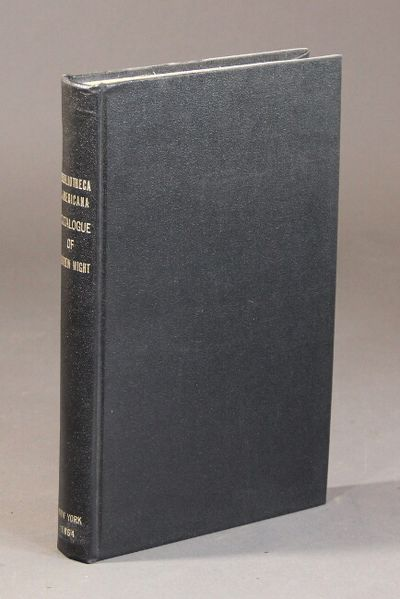 New York: J. E. Cooley, 1864. 8vo, pp. , 10-315, ; later black buckram gilt, original brown paper wr...