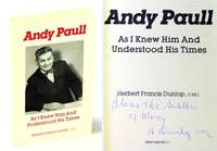 image of Andy Paull As I Knew Him and Understood His Times