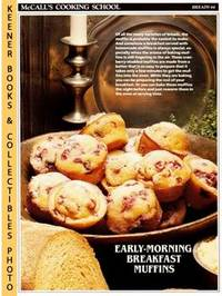 image of McCall's Cooking School Recipe Card: Breads 44 - Cranberry Muffins :  Replacement McCall's Recipage or Recipe Card For 3-Ring Binders : McCall's  Cooking School Cookbook Series