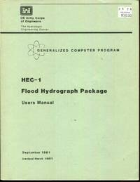 HEC-1 Flood Hydrograph Package. Users Manual
