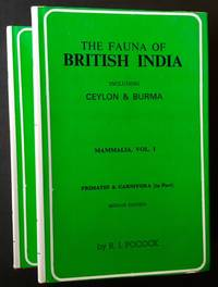 The Fauna of British India: Including Ceylon & Burma (2 Vols.)