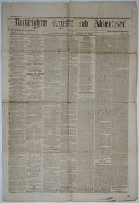 image of Capture of Fort Sumter, in Rockingham Register and Advertiser. Newspaper