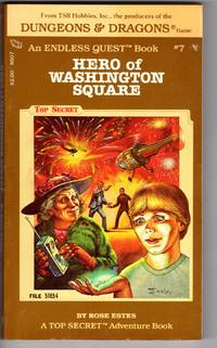 image of HERO OF WASHINGTON SQUARE (Endless Quest Book #7)