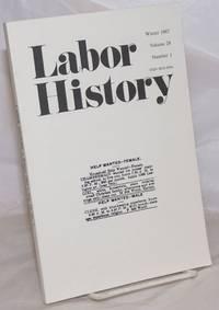 image of Labor history. vol 28, no. 1, Winter, 1987