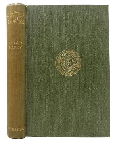London: Macmillan, 1928. 1st edition. Green cloth binding with gilt decoration & lettering on front ...