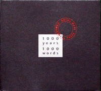1000 years 1000 words, A Celebration of the Royal Mail Millennium Stamps project