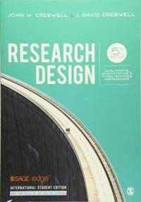 image of Research Design: Qualitative, Quantitative, and Mixed Methods Approaches (International Edition)