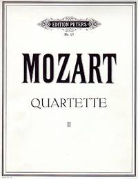 Quartette [String Quartets], Band II [COMPLETE SET of FOUR PARTS] by  Wolfgang Amadeus Mozart - Paperback - from bookarrest and Biblio.co.uk