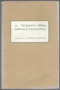 image of The Leonard L. Milberg Collection of American Poetry