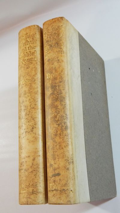 Boston: Houghton, Mifflin, 1897. First edition. Hardcover. Good. 2 volumes. Quarter vellum, gilt; pa...