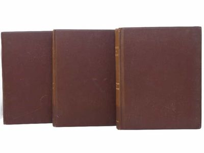 Press of Tuttle, Morehouse & Taylor, 1892. Large Hardcover. Very Good/No Jacket. Numbered 42 of 250....
