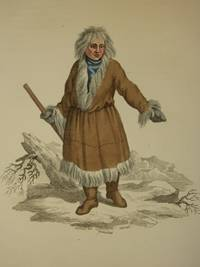 The Costume of the Russian Empire 1811. Original Hand Coloured Engraving by John Dadley (after Johann Gottlieb Georgi). Plate XLIX: A Kamtschadale in his Winter Dress [Kamchatka/Siberia]