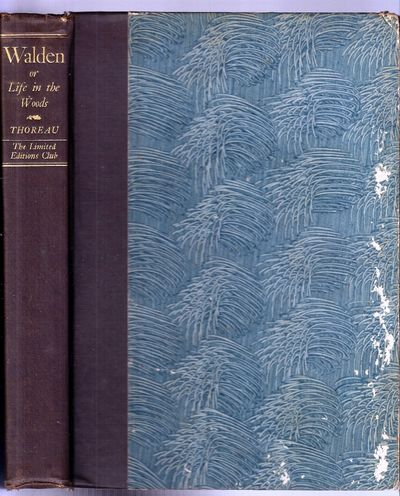 New York: Limited Editions Club, 1936. Hardcover. Some foxing to endpapers, mostly at rear, and an o...