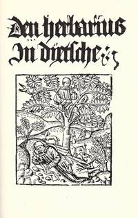 image of Den Herbarius in Dyetsche [Antwerp ca. 1500]. Facsimile with an introduction by L.J. Vandewiele