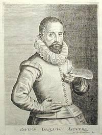 image of Engraved Portrait of Flemish artist Paul Brill (1554-1626) by Esme de Boulonois