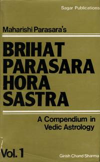 image of Maharshi Parasara's Brihat Parasara Hora Sastra [2 Volume Set]