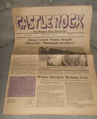 image of Castle Rock the Stephen King Newsletter for September 1985  Volume 1 Number 9