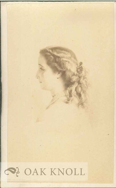 N.P.: n.p., n.d.. Carte de visite. 2 1/2 by 4 inches. Portrait of Eugenia, Empress of France 1853-70...