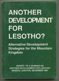 Another Development for Lesotho? Alternative Development Strategies for the Mountain Kingdom