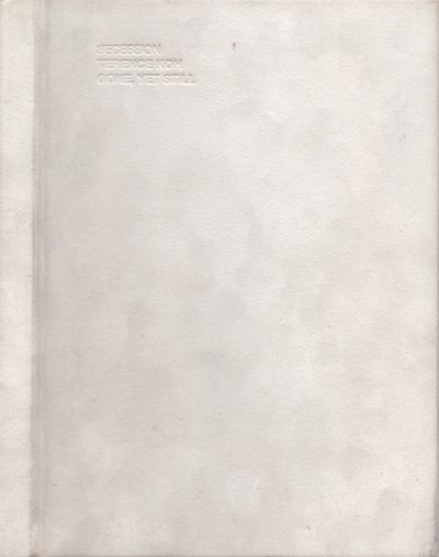 Vienna: Secession, 2005. First Edition. Hardcover. Very Good. Octavo. White cloth hard cover. 136 pa...