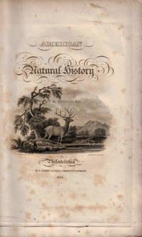 image of AMERICAN NATURAL HISTORY. Volume I. Part I. - Mastology.