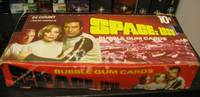 1976 Donruss Space:1999 Trading Card Set Wax Pack Box  -(24 Wax Packs in box)- (TV Series starring: Martin Landau, Barbara Bain, Barry Morse, Catherine Schell, Prentis Hancock, Clifton Jones, Zienia Merton, Anton Phillips, Nick Tate, Suzanne Roquette, +)