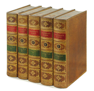 London: Smith, Elder & Co., 1869. 22 vols., 8vo. Uniformly bound in handsome full tree calf, delicat...