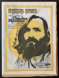 Rolling Stone (Issue #61, June 25th, 1970 -- Charles Manson Cover)