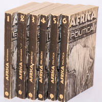 Africa; six volumes; Economia parts 1 and 2;  Sociedad; Religion; Politica parts 1 and 2