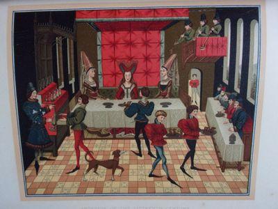 FALKE, Jacob Von. ART IN THE HOUSE. Boston: L. Prang, 1879. 4to. Publisher's full brown morocco, ela...