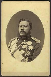 image of Hawaii King David Kalakaua, cabinet photo