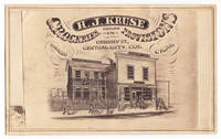 H.J. Kruse Dealer in Groceries Provisions Tobacco Cigars Gregory St. Central City, Col