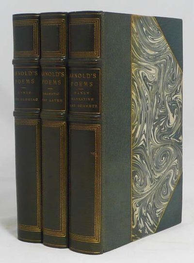 London and New York: Macmillan, 1905, 1905. A reprint of the 1895 edition of Arnold's poems in three...
