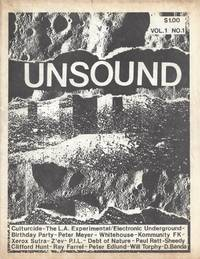 Unsound Vol. 1 No. 1, 1983 - Industrial Music Zine by  eds  William; Christopher Rankin - Paperback - First edition - 1983 - from Bay Leaf Used & Rare Books, ABAA and Biblio.com
