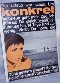 image of Konkret, 1963, Sep, No. 9 Unabhängige Zeitschrift Für Kulture und Politik