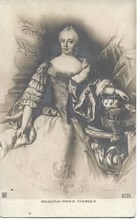 image of Empress of Austria, Maria Theresa on 1900s Sepiatone Postcard