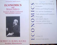 image of Catalogue 37. Economics and Related Subjects. American, British, Continental; 19th_20th Centuries.