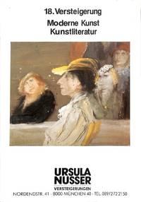 Catalogue84/1986: Moderne Kunst, Kunstliteratur.