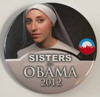 image of Sisters for Obama 2012 [pinback button]