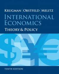 International economics theory and policy 10th edition pearson international economics theory and policy 10th edition pearson series in economics by paul r krugman hardcover fandeluxe Choice Image