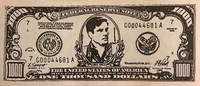 image of Good for one drink / Thank you for attending the Ed Sadlowski retirement party [Imitation currency]