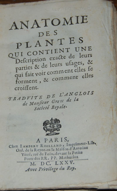 Paris: Roulland, 1675. First Edition, in French. 12mo, pp. (22), 215, (xxix;) 6 leaves. Bound in con...
