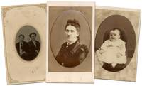 "Three CDV Photographs, each with a different back mark of ""J.L. Cope, Artificial Fly Tyer and Photographer"
