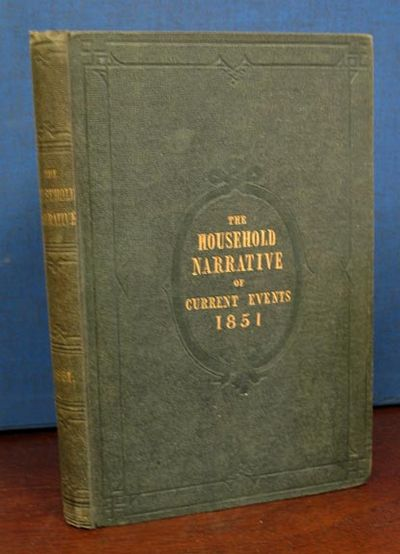 London, 1851. 1st volume edition (NCBEL III, 818). Original green publisher's cloth with gilt spine ...
