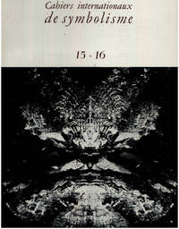 image of Cahiers internationaux de symbolisme n° 15-16