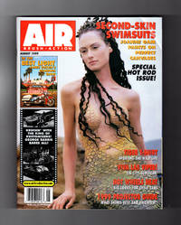 Airbrush Action (Air Brush-Action) - July / August, 1999. Caroline Hepburn 'Mermaid' Cover, Brushed by Joanne Gair. George Barris; Mark Daehlin Tiger art; James Gucwa; Projector Buyer's Guide