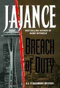 Breach of Duty by J. A. Jance - Hardcover - 1999 - from ThriftBooks and Biblio.com