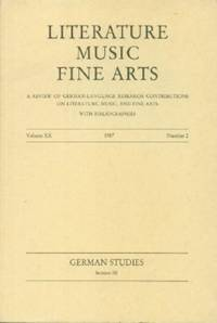 Literature Music Fine Arts. Volume XX. 1987. Number 2.